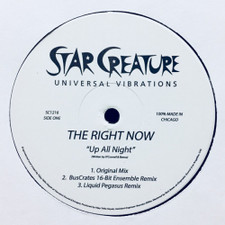 "The Right Now - Up All Night / If It Was You - 12"" Vinyl"
