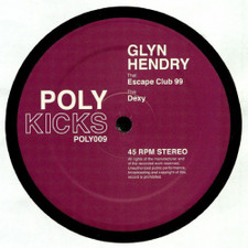 "Glyn Hendry - Escape Club 99 - 12"" Vinyl"