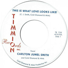 "Carlton Jumel Smith - This Is What Love Looks Like - 7"" Vinyl"