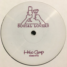 "Social Lovers - Lover's Flame / The Light - 12"" Vinyl"