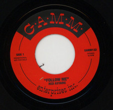 "Red Astaire - Follow Me - 7"" Vinyl"