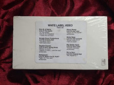 Various Artists - White Label Video - Live Performances - VHS Cassette