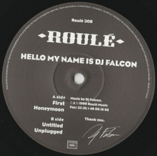 "DJ Falcon - Hello My Name Is DJ Falcon - 12"" Vinyl"