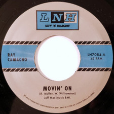 "Ray Camacho - Movin' On / Si Si Puede - 7"" Vinyl"