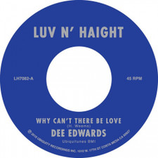 "Dee Edwards - Why Can't There Be Love - 7"" Vinyl"