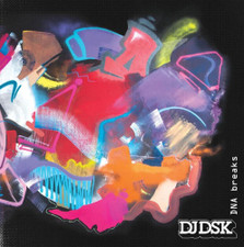 "DJ DSK - DNA Breaks - 7"" Colored Vinyl"