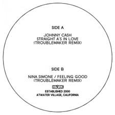 "Troublemaker - Johnny Cash & Nina Simone Remixes - 7"" Vinyl"