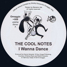 "The Cool Notes - I Wanna Dance - 12"" Vinyl"