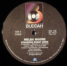 """Melba Moore - Standing Right Here / This Is It - 12"""" Vinyl"""