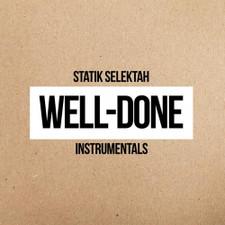 Statik Selektah - Well-Done Instrumentals - 2x LP Vinyl
