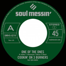 "Cookin' On 3 Burners - One Of The Ones / Force Of Nature - 7"" Vinyl"