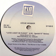 "Stevie Wonder - Love Light In Flight - 12"" Vinyl"