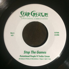 "Potatohead People - Stop The Games - 7"" Vinyl"