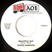 """Spider Harrison - Beautiful Day - 7"""" Vinyl"""