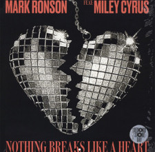"Mark Ronson feat. Miley Cyrus - Nothing Breaks Like A Heart RSD - 12"" Vinyl"