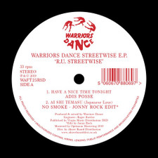 "Various Artists - Warriors Dance Streetwise Ep RSD - 12"" Vinyl"