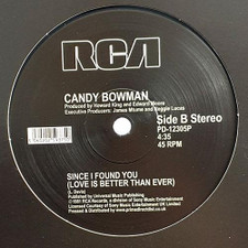 "Candy Bowman - I Wanna Feel Your Love RSD - 12"" Vinyl"