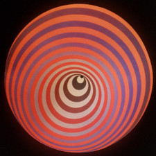Victor Vasarely - Circle (Red) - Single Slipmat