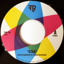 "Lucid Paradise & Great Revivers - Star - 7"" Vinyl"