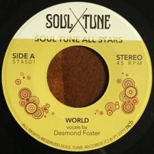 """Soul Tune Allstars - World / Natural Feeling - 7"""" Vinyl"""