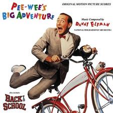 Danny Elfman - Pee-Wee's Big Adventure / Back To School - LP Vinyl