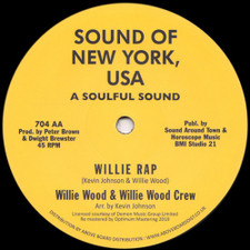 "Johnson Products / Willie Wood Crew - Johnson Jumpin' / Willie Rap - 12"" Vinyl"