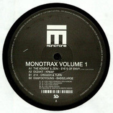 "Various Artists - Monotrax Vol. 1 - 12"" Vinyl"