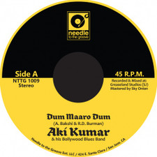 "Aki Kumar - Dum Maaro Dum - 7"" Colored Vinyl"
