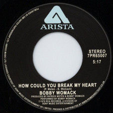 "Bobby Womack - How Could You Break My Heart? - 7"" Vinyl"