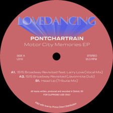"Pontchartrain - Motor City Memories Ep - 12"" Vinyl"