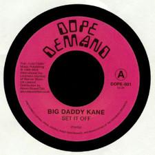 "Big Daddy Kane - Set It Off - 7"" Vinyl"