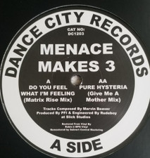 "Menace Makes 3 - Do You Feel What I'm Feeling - 12"" Vinyl"