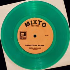 """Breakdown Brass - Mary Jane / The Horseman - 7"""" Colored Vinyl"""