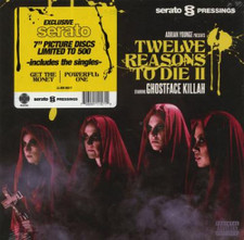 "Ghostface Killah & Adrian Younge - Twelve Reasons To Die II (Serato Control) - 2x 7"" Picture Disc Vinyl"