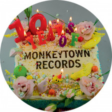 "Various Artists - 10 Years Of Monkeytown Ep - 12"" Vinyl"