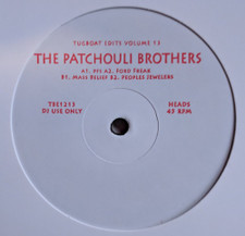 "The Patchouli Brothers - Tugboat Edits Vol. 13 - 12"" Vinyl"