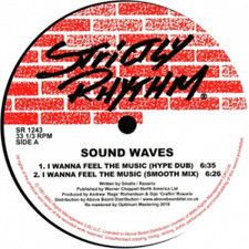"Sound Waves - I Wanna Feel The Music - 12"" Vinyl"