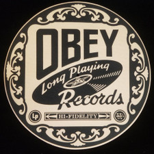 Obey Records - Long Playing - Single Slipmat