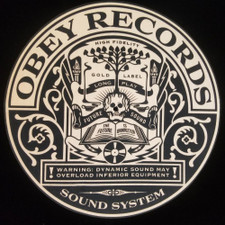 Obey Records - Dynamic Sound - Single Slipmat