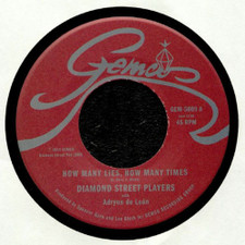 "Diamond Street Players - How Many Lies, How Many Times - 7"" Vinyl"