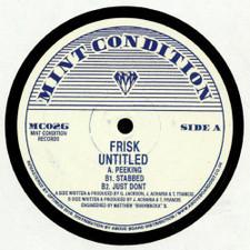 "Frisk - Untitled - 12"" Vinyl"