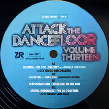 "Various Artists - Attack The Dancefloor Vol. 13 - 12"" Vinyl"