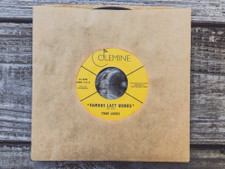 "The True Loves - Famous Last Words - 7"" Vinyl"
