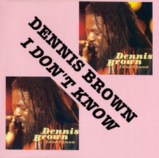 Dennis Brown - I Don't Know - LP Vinyl