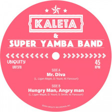 "Kaleta & Super Yamba Band - Mr. Diva - 7"" Vinyl"