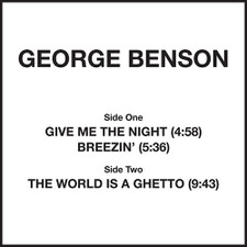 "George Benson - Give Me The Night - 12"" Vinyl"