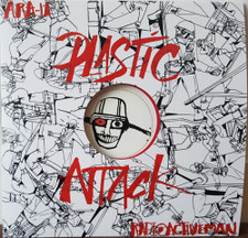 "Ara-U / Radioactive Man - Plastic Attack - 12"" Vinyl"