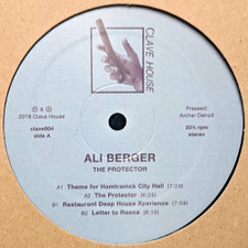"Ali Berger - The Protector - 12"" Vinyl"