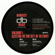"Various Artists - Electro In The Key Of Detroit Vol. 1 - 12"" Vinyl"