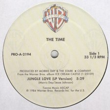 "The Time - Jungle Love - 12"" Vinyl"